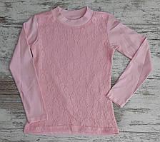 Детская школьная блузка на девочек 6-12 лет, Турция, оптом