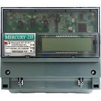 Счетчик электроэнергии Меркурий 231 AT-01I трехфазный многотарифный