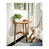 ASKHOLMEN Балконный стол+1 складной стул