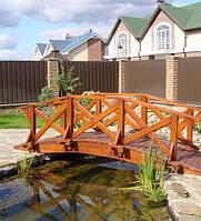 Декоративный мостик для сада №5