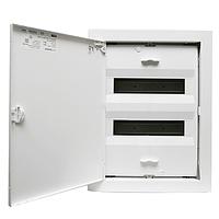 ABB UK520E. Щит на 24(28) модулей внутренней установки с металлической дверью
