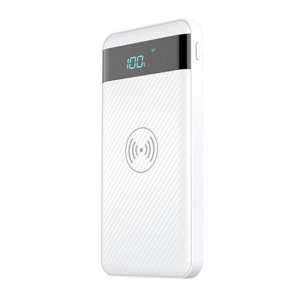 Внешний аккумулятор Power Bank X2 10000mAh (С беспроводной зарядкой)