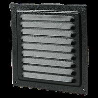 Решетка металлическая Вентс МВМ 300с коричневая (RAL 8017)