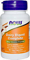 Активное долголетие NOW Dairy Digest Complete (90 капс)