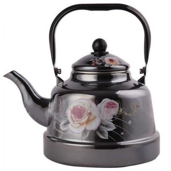 Компактный кухонный чайник 2.5 л Frico FRU-793 из высококачественной нержавеющей стали