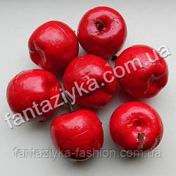 Яблоко искусственное для декора 35мм красное