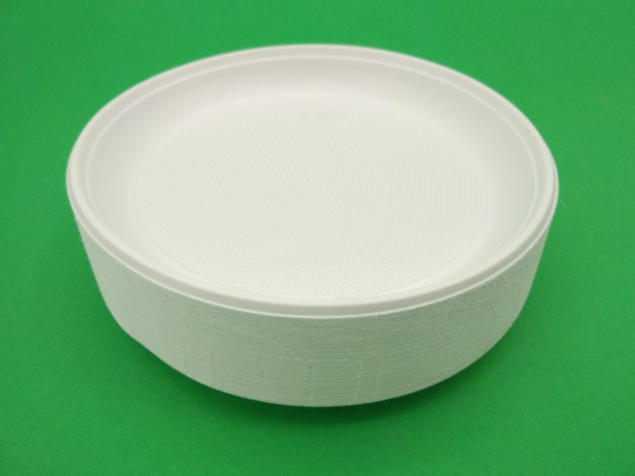 Тарелка одноразовая диаметр 165мм  Супер (100 шт)