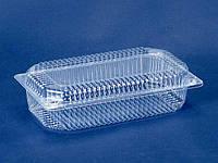 Контейнер пластиковый с откидной крышкой ПС-121 V1300 млл 230*130*72 (50 шт)