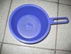 Дуршлаг пластмассовый  1,5литра  (1 шт)