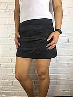 Спідниця жіноча LiT&Go 242 чорна атласна L