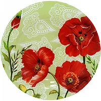 Блюдо круглое S&T Альпийский мак 25 см 309