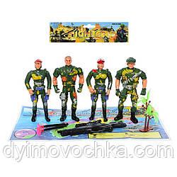 Детский игровой набор солдатиков с оружием 5837