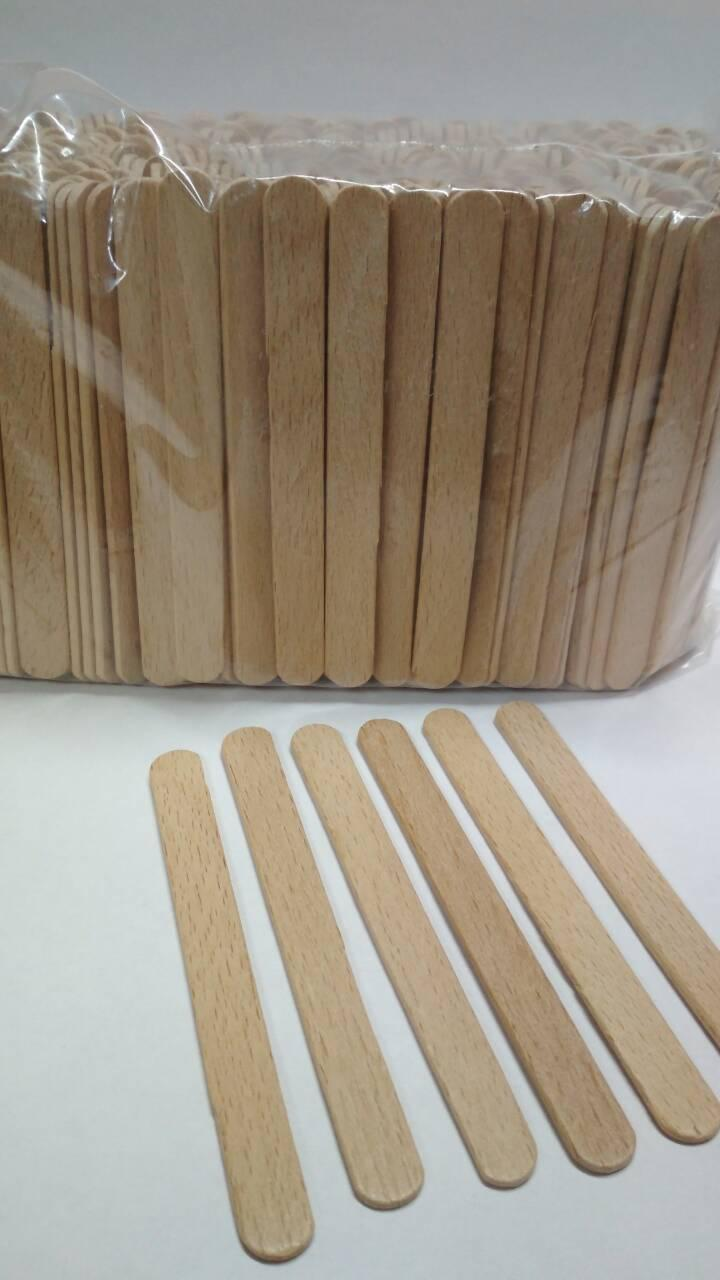 Палочка (9см) для мороженого деревянная  350шт (1 пач)