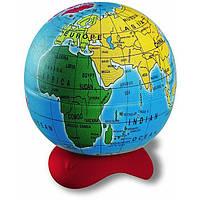 Точилка детская, 1 отверстие, с конт., Maped Globe, пласт., цветная, Глобус