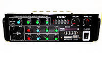 Усилитель звука UKC AV-329BT + КАРАОКЕ + Bluetooth