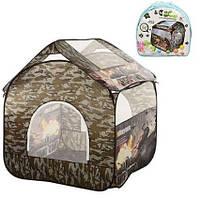 Детская палатка A999-207 Ангар для танков, детский дом, складывается в сумку, дитяча палатка M 2501