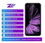 "Смартфон Leagoo Z10 фиолетовый (""5 экран, памяти 1/8, батарея 2000 мАч), фото 2"