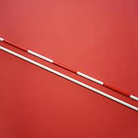 «АНТЕННЫ» для волейбола цельные бело-красные (1 шт.), Китай