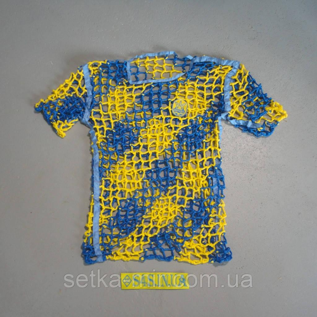 Футболка для вболівальників збірної України 48-50 розмір