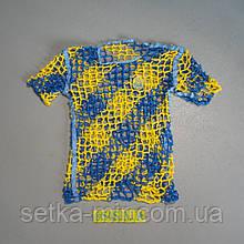Футболка для вболівальників збірної України 44-46 розмір
