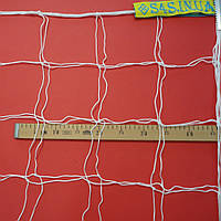 Сетка футбольная «ЭКОНОМ 1,5» белая (комплект из 2 шт.), фото 1