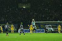 Сетка для футбола повышенной прочности «Стандарт» белая (комплект из 2 шт.), фото 1