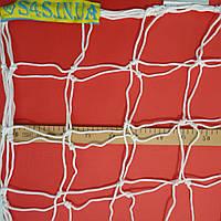 Сетка для футбольных ворот повышенной прочности «ПРЕМИУМ-ДИАГОНАЛЬ» белая (комплект из 2 шт.), фото 1