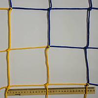 Сетка заградительная D 3,5 мм.15 см. ячейка оградительная, для спортзалов, стадионов, спортплощадок, фото 1