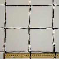 Сетка заградительная  D 2,5 мм. 12 см. ячейка оградительная, для спортзалов, стадионов, спортплощадок, фото 1