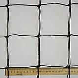 Сетка заградительная D 2,5 мм. 10 см. ячейка оградительная для спортзалов, стадионов, спортплощадок., фото 4
