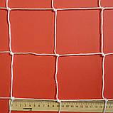 Сетка заградительная D 2,5 мм. 10 см. ячейка оградительная для спортзалов, стадионов, спортплощадок., фото 2