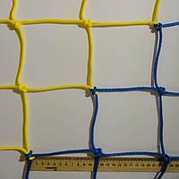 Сетка заградительная  D 4,5 мм. Ячейка 12 см., оградительная, для спортзалов, стадионов, спортплощадок