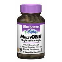 Витамины с железом Bluebonnet Nutrition MultiONE (30 желевых капсул)