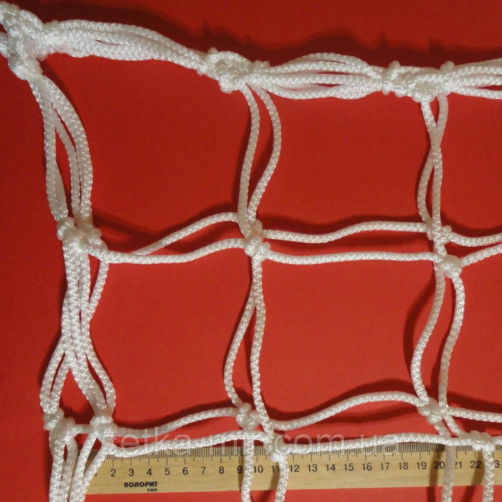 Сетка для футзала, гандбола «ЭЛИТ 1.1» белая (комплект из 2 шт.)