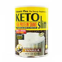Насыщенный Протеиновый Коктейль Natures Plus Keto Slim (264 грамма)