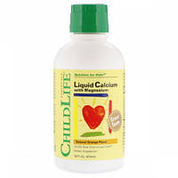 Жидкий Кальций и Магний для Детей ChildLife Liquid Calcium with Magnesium (474 мл)