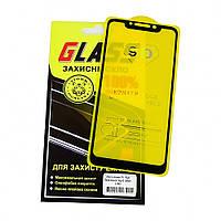 Защитное стекло для XIAOMI Pocophone F1 Full Glue (0.3 мм, 2.5D, чёрное)