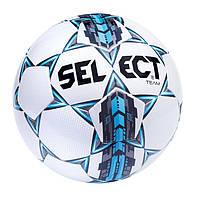 Мяч футбольный Select Team IMS, бело-синий, р. 3, ламинированный