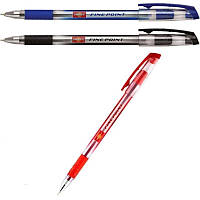 Ручка шариковая Unimax Fine Point (0,5мм), стержень красн.
