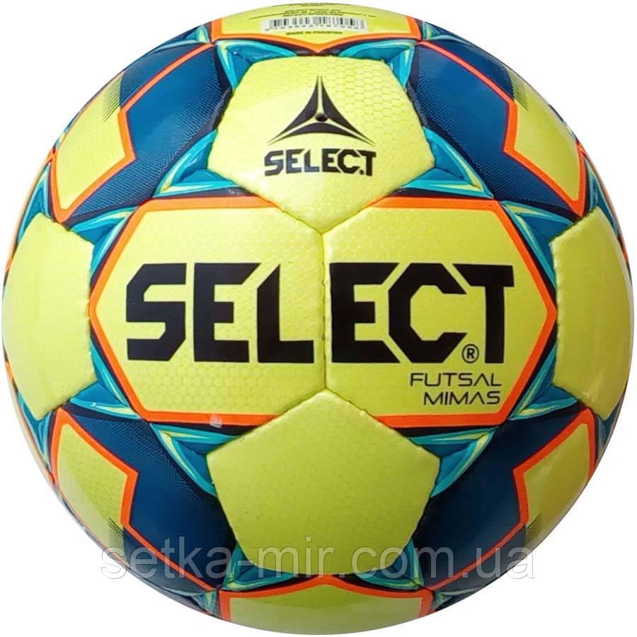 Мяч футзальный Select Futsal Mimas IMS NEW (102) желт/син, фото 1