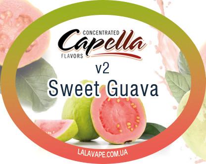 Ароматизатор Capella Sweet Guava v2 (Сладкая Гуава v2)