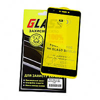 Защитное стекло для XIAOMI Redmi Note 4x Full Glue (0.3 мм, 2.5D, чёрное)