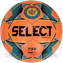 Мяч футзальный мяч для мини футбола Select Futsal Tornado FIFA New, р. 4, ламинированный, низкий отскок