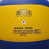 М'яч волейбольний Mikasa MVA200 PU, фото 3