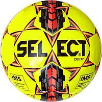 Мяч футбольный SELECT Delta IMS (215) желт/черн размер 5, фото 1
