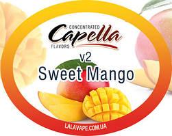 Ароматизатор Capella Sweet Mango v2 (Сладкое Манго v2)