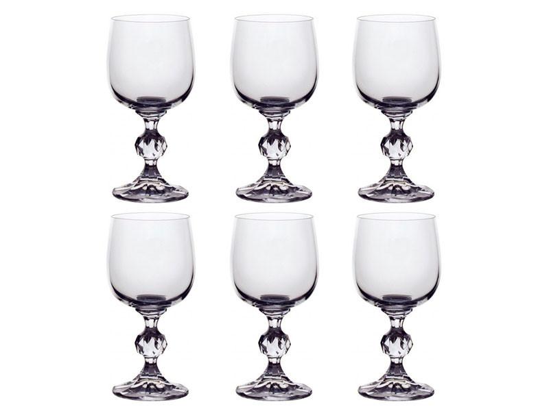 Набор фужеров для шампанского Bohemia Claudia 190 мл из 6 шт 024-158