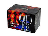 Набор фужеров для шампанского Bohemia Claudia 190 мл из 6 шт 024-158, фото 2
