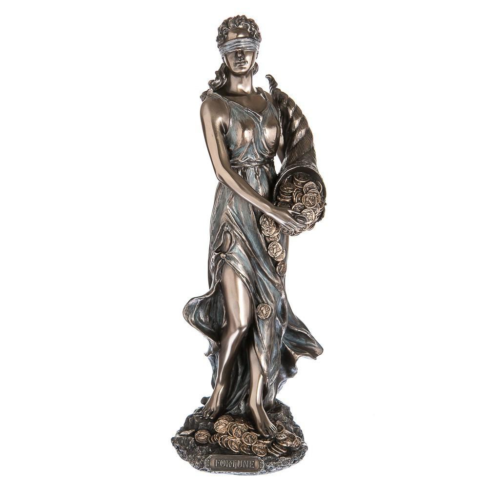 Статуэтка Veronese Фортуна 28 см 76450A4 фигурка статуетка веронезе с рогом изобилия деньгами верона