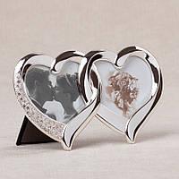 Фоторамка настольная Lefard Сердца 17х10 см 014C мультирамка рамка для фото коллаж сердце сердечки